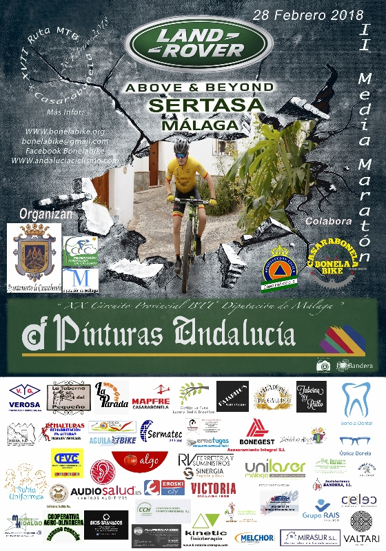 Cartel Media Maratón Febrero 2018