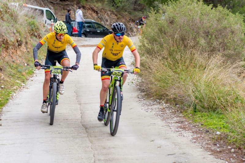 CD BONELA BIKE EN LA III MEDIA MARATON FRIGILIANA 2018