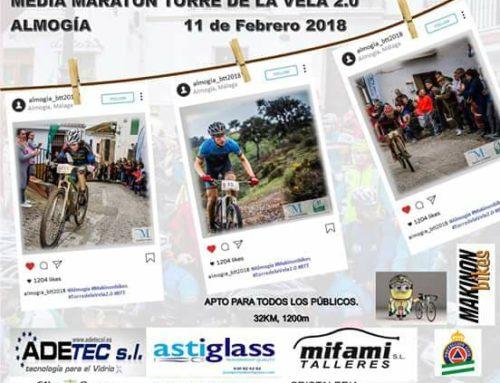 Media maraton Torre de la Vela 2.0. Fecha: Sábado 10 Feb 2018