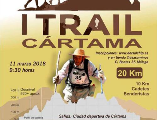 I Trail Cártama. Sierra de los Espartales – Pico del Águila. Fecha: Domingo 11-3-2018