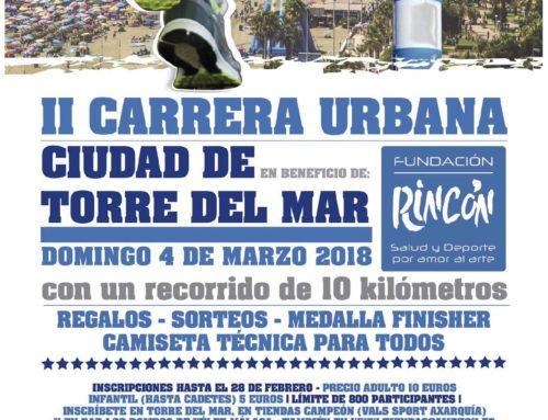 II Carrera Urbana Ciudad de Torre del Mar. Fecha: Domingo 15 Abril 2018
