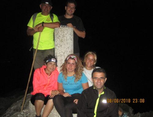 Ruta de Senderismo. Casarabonela a Cima de Sierra Prieta al atardecer ( vuelta de noche ) Fecha: Miércoles 8 Agosto 2018.