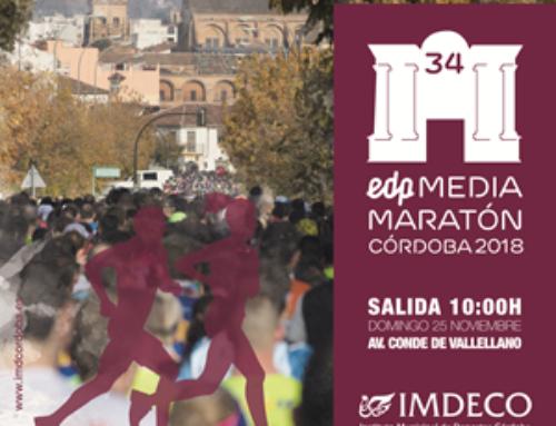 Media Maratón Córdoba. Domingo 25 Noviembre 2018