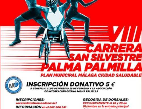 VIII San Silvestre Palma Palmilla 2018.Lunes 31 Diciembre 2018