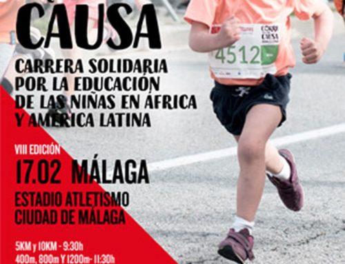 Carrera solidaria por la educación de las niñas de África y América Latina. Málaga. Fecha: Domingo 17 Febrero 2019