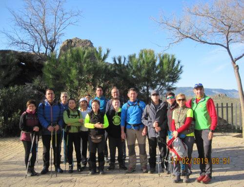 Ruta de Senderismo. Parque Nacional de Sierra Nevada. Lanjarón. Circular Camino Real – Acequia de Montalbán. Fecha: Domingo 17 Febrero 2019.