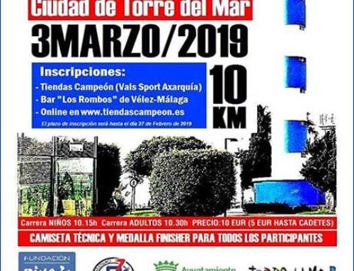 III Carrera Urbana Ciudad de Torre del Mar. Fecha: 3 Marzo 2019