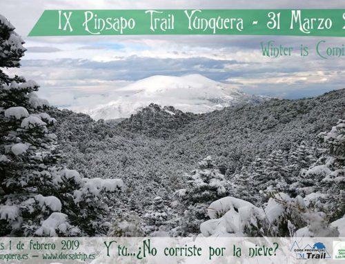 IX Pinsapo Trail Yunquera. Fecha: Domingo 31 Marzo 2019