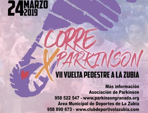 Vuelta Pedestre a La Zubia: Corre por el Parkinson 2019. Fecha: Domingo 24 Marzo 2019