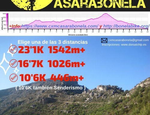 I CxM Casarabonela ( Carrera por Montaña ). Fecha: Domingo 17 Noviembre 2019