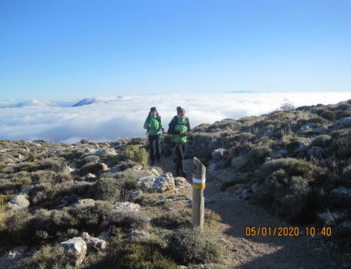Ruta de Senderismo. Sierra de las Nieves. Mirador de Luís Ceballos a Torrecilla. Fecha: Domingo 5 Enero 2020
