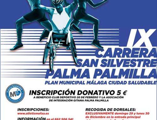 IX San Silvestre Palma-Palmilla. Fecha: Martes 31 Diciembre 2019