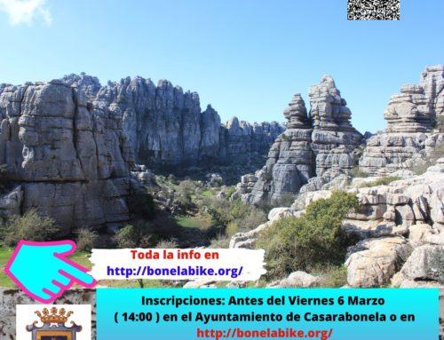 PRÓXIMA Ruta de Senderismo.  El Torcal de Antequera. Ruta Amarilla y Roja. Fecha: Domingo 8 Marzo 2020.