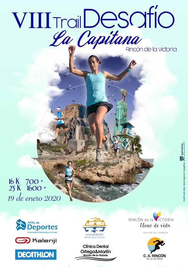 VIII Trail Desafío La Capitana. Rincón de la Victoria-Málaga.  Fecha: Domingo 19 Enero 2020