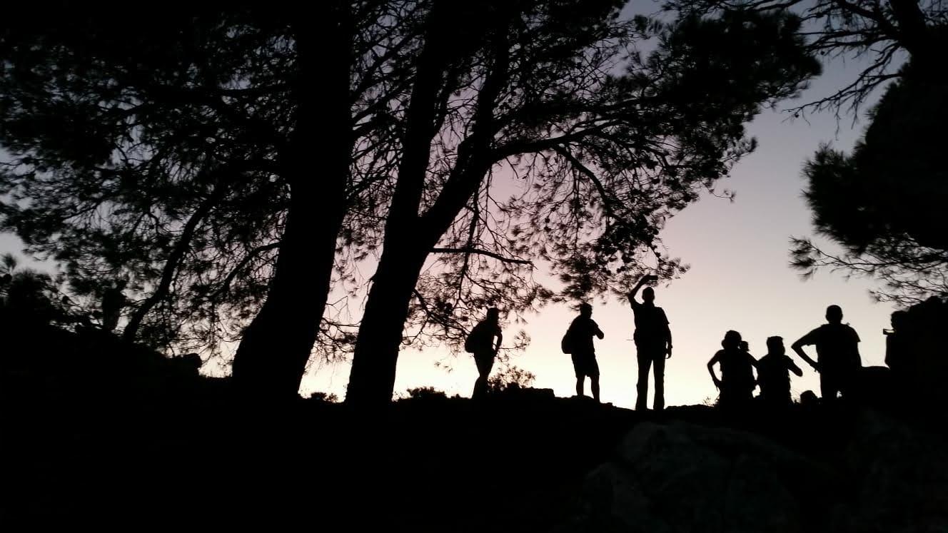 Ruta de Senderismo.  Vespertina Circular al Vivero.  Casarabonela ( Sierra de las Nieves ). Fecha: Sábado 22 Agosto 2020.